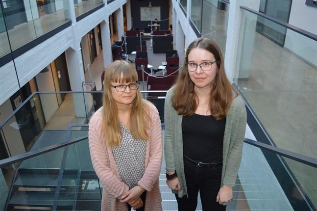 Religionsvetenskap fokuserar på icke-kristna religioner. Sofia Sjö är forskningsledare och Jessica Rönngren snart färdig med studierna.
