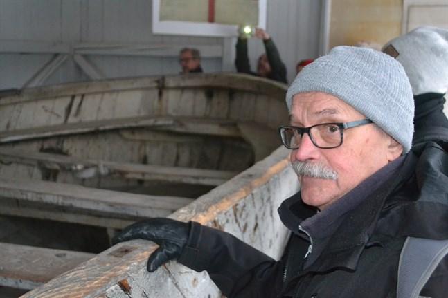 Grundaren och initiativtagaren till Botnia Kontakt. Professor emeritus Christer Westerdahl från Götene i Sverige. Han hoppas och tror att det maritima samarbetet får en fortsättning.