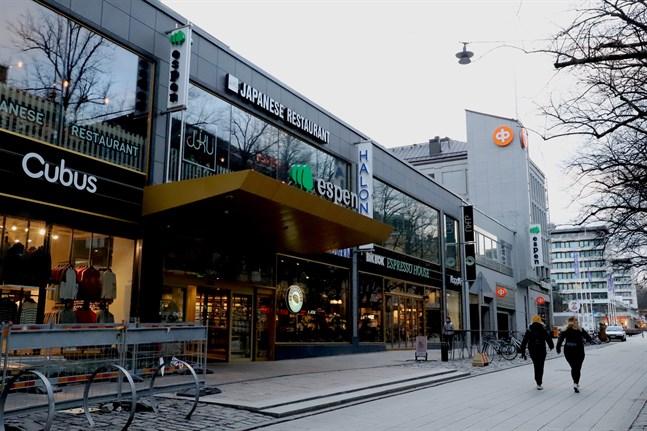 Köpcentret Espen invigdes 2018. Nu byter köpcentret ägare.