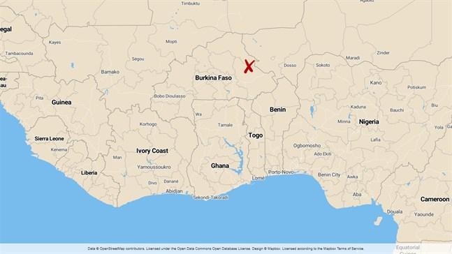 Pansi ligger i norra Burkina Faso.