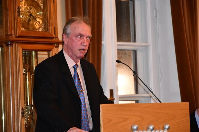 Pekka Eränen (Saml) var nöjd över att få vara med om att godkänna vindkraftsplanen i Västervik.