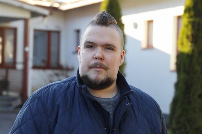 Närvårdaren Mats Laurila, huvudförtroendeman för Tehy, jobbar själv på Tallmo vårdcenter.