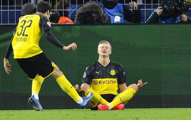 Dortmunds Erling Håland.