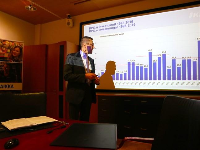 KPO:s vd Kim Biskop presenterade historiskt starkt resultat för handelslaget.