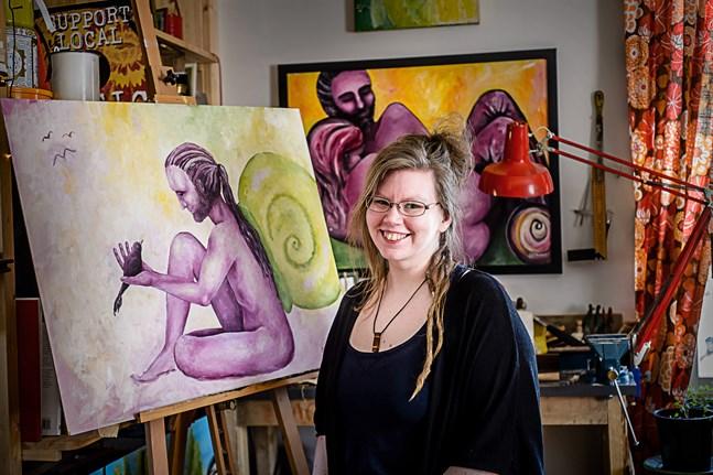 Alexandra Sandbäck ger konstutövare och konstälskare en digital plattform att mötas på.