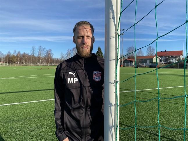 Matt Poland är nu tillbaka i Kristinestad i rollen som huvudtränare och träningschef för Sporting Kristina.