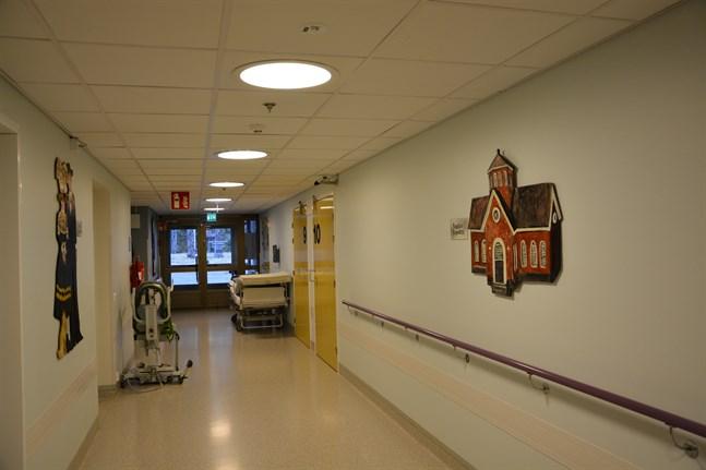 Rehabiliteringsavdelningen i Kristinestad planeras ta emot coronapatienter.