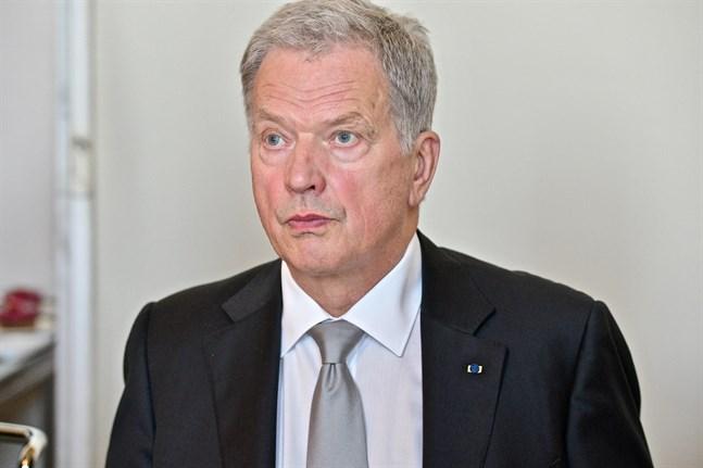 Sauli Niinistö kommenterade Inrikesministeriets beslut i Yle Morgonettan på lördagsmorgonen.