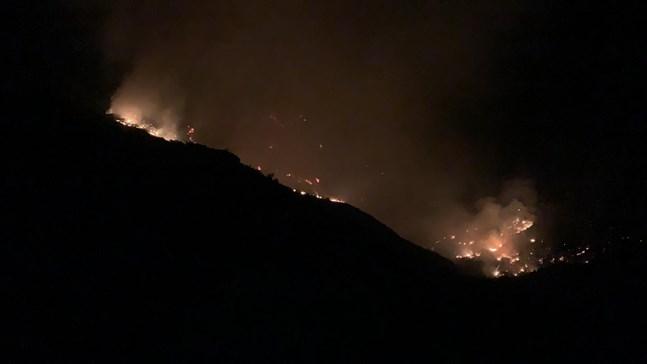 Senast i augusti drabbades Gran Canaria av svåra skogsbränder. Arkivbild.