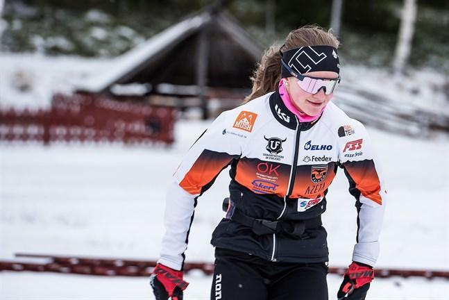 Falkens Hanna Ray inleder säsongen i Taivalkoski i helgen.
