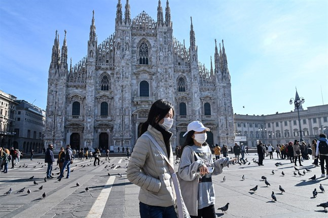 Finland har uppdaterat sina rekommendationer för personer som ska resa till Italien där nya fall av coronaviruset konstaterats.