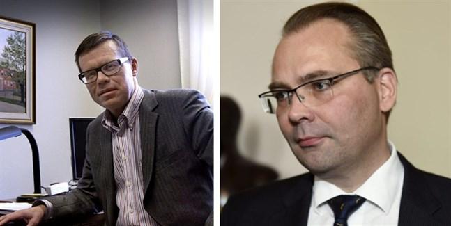 Markku Lumio, som var Vasas stadsdirektör 2001–2011, och före detta försvarsminister Jussi Niinistö är två av de som sökt tjänsten.