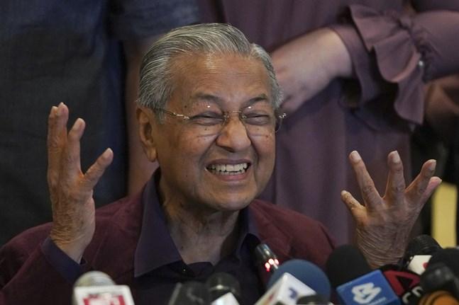 Malaysias premiärminister Mahathir Mohamad avgår. Arkivbild