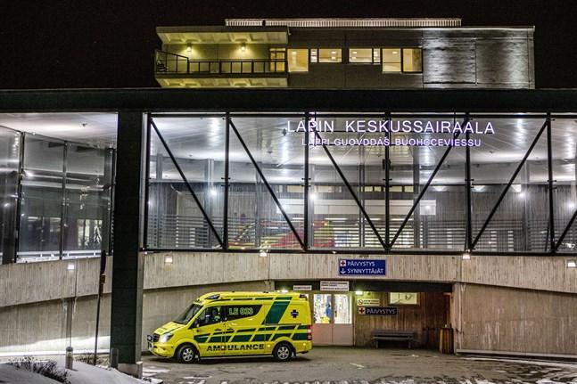 Lapplands centralsjukhus i Rovaniemi hanterade ett fall av sjukdomen covid-19 i januari.