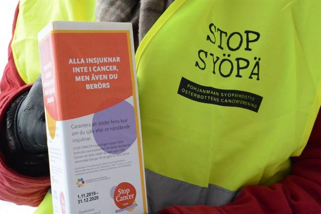Krishjälp, palliativ vård, stöd för patienter och anhöriga och för lokal cancervård är huvudmål för insamlingen Stop cancer.
