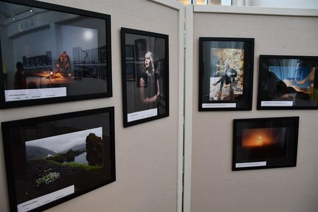 De 30 bästa fotografierna i Österbottens kameraföreningars årstävling 2019 visas på utställningen.