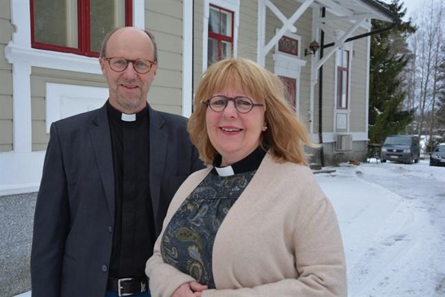 Sixten Ekstrand och Maria Sten vill ge församlingarna byggmaterial för att fundera på sitt eget doparbete.