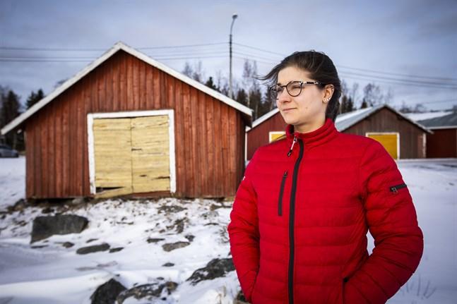 Frida Lähdesmäki, byaombud för Aktion Österbotten, hoppas att byborna i Österbotten anmäler flera sevärdheter till Byabingo.