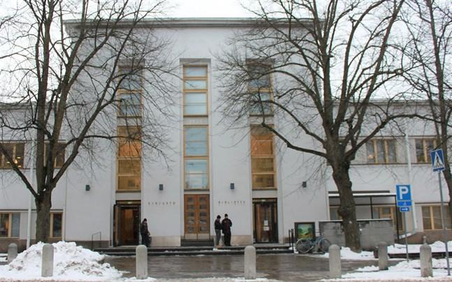 I år håller också stadsbiblioteket stängt i mellandagarna.