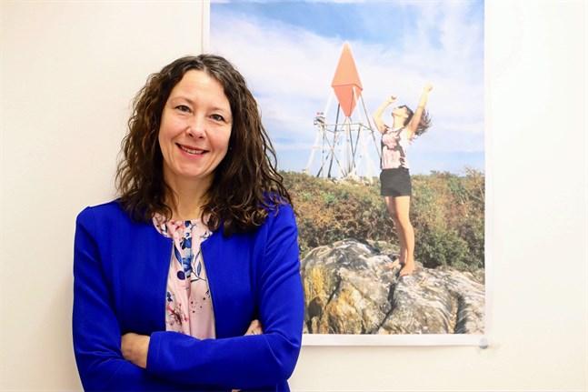 Ann-Sofi Backgren är ordförande för Österbottens jämställdhetsgrupp.