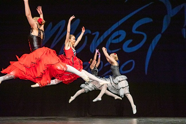 Det har dansats i Campus Allegro tidigare, som här på Moves 2020, men förhoppningen är att det ska utbildas dansare vid YA i Jakobstad i framtiden.