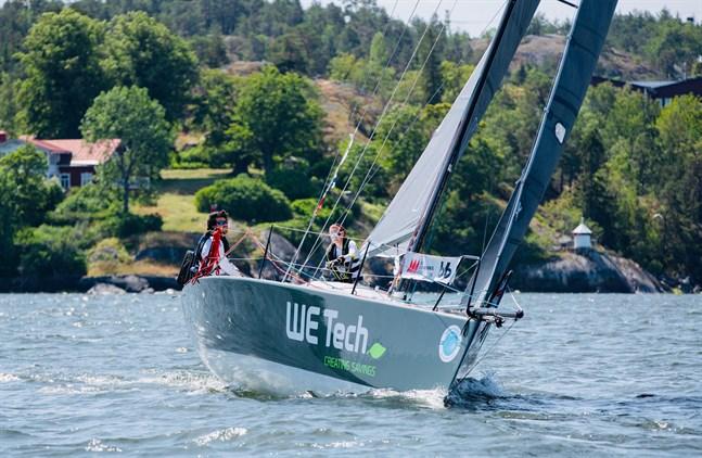Hedda Stolpe och Michael Wahlroos har suttit länge i samma båt. Nu förbereder sig paret för VM i Malta i oktober.