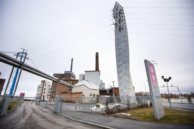Vasa elektriska har hällt blåbärssoppa i fjärrvärmerören i Vasa och Korsholm meddelar bolaget 1 april.