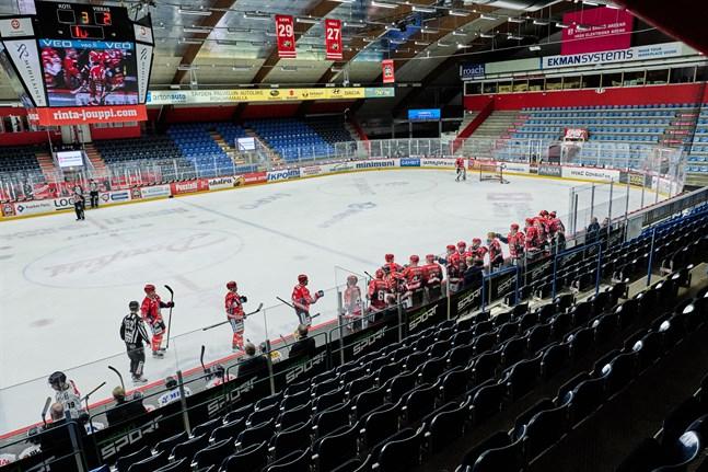 Sista matchen i den gamla ishallen på Kopparön spelades inför tomma läktare den 12 mars 2020.