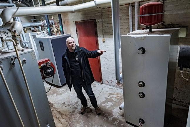 Timo Sivula tror att Heliostorages system kommer att revolutionera värmemarknaden.
