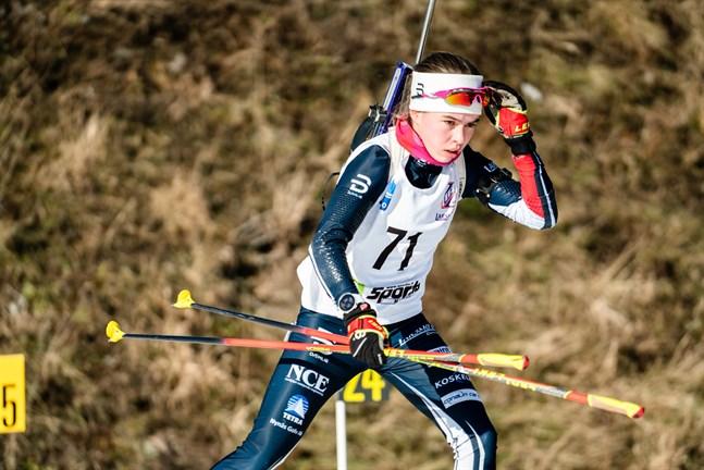 Rebecca Sandnäs från Jakobstad visade svenskarna ryggtavlan i SM.