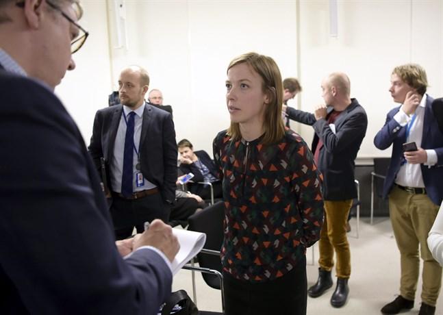 Utbildningsminister Li Andersson