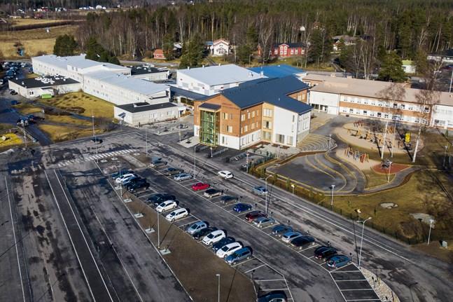 I framtiden kommer Smedsby skolcentrum se annorlunda ut än nu då de svenska och finska skolorna är helt åtskilda.