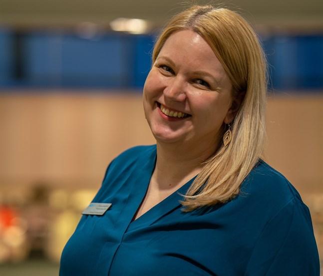 Karleby Juniorhandelskammares ordförande Tanja Saukko jobbar för att regionen ska vara livskraftig också efter coronapandemin.