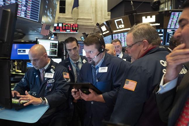 USA-börserna sjönk på fredagen. Arkivbild.