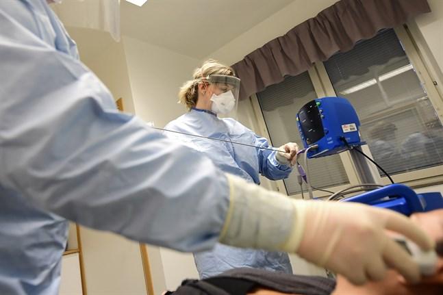 61 personer intensivvårdas för coronaviruset i Sverige. Arkivbild.
