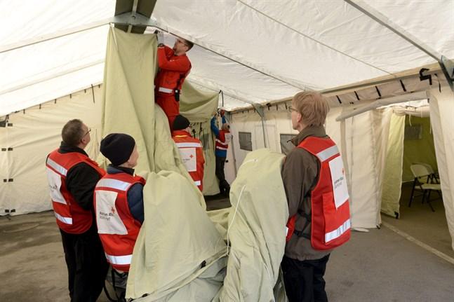 Hyvinge fick en Triage-enhet tidigare i veckan, nu står Raseborgs sjukhus i tur.