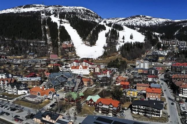 Nu stoppas after ski-verksamheten i flera skidorter. På bilden Åre. Arkivbild.