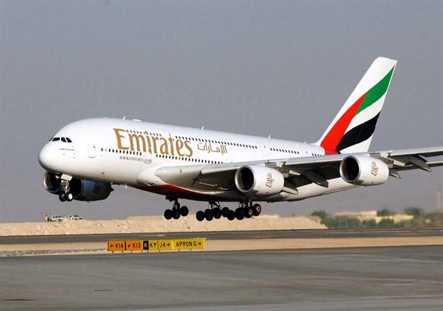 Flygbolaget Emirates ställer in all passagerartrafik från den 15 mars. Arkivbild.