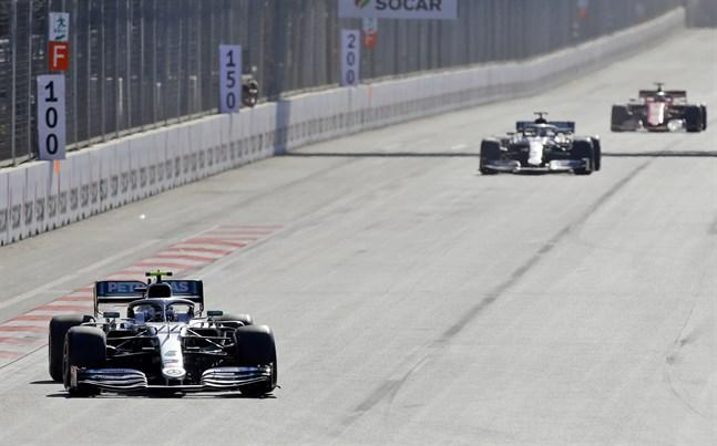 Azerbajdzjans GP skjuts upp. Arkivbild.