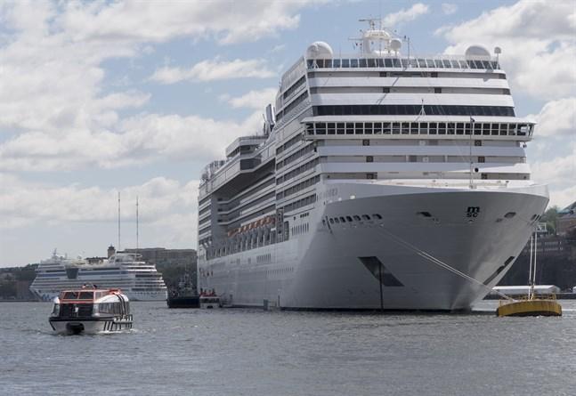 Kryssningsfartyget MSC Magnifica, här i Stockholm i en bild från 2017.