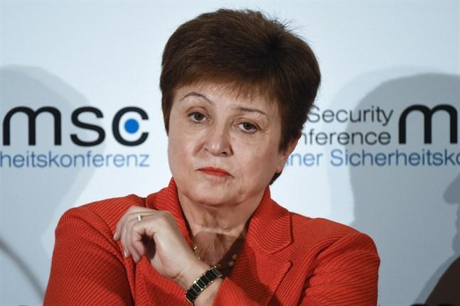 Den bulgariska ekonomen Kristalina Georgieva har lett IMF sedan 2019. Arkivbild.