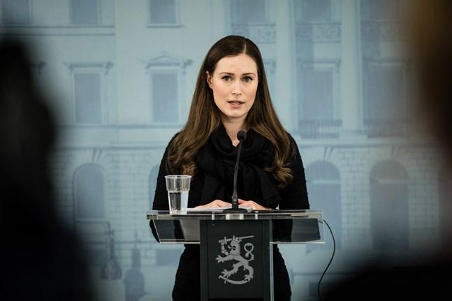 Statsminister Sanna Marin (SDP). Arkivbild.