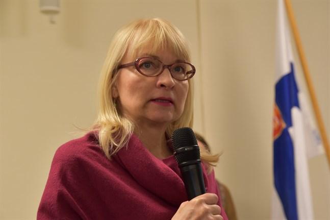 Päivi Sillanaukee, avdelningschef vid Social- och hälsovårdsministeriet. Arkivbild.
