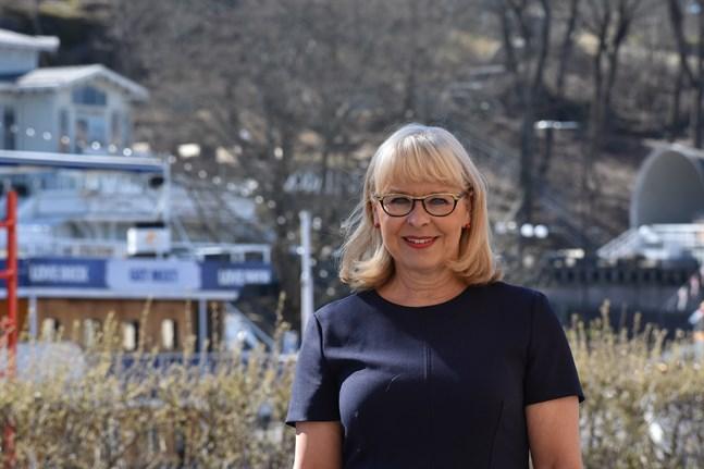 Anne-Marget Hellén är turistdirektör vid Åbo stad och ordförande för Föreningen Finlands turistorganisationer. Arkivbild.