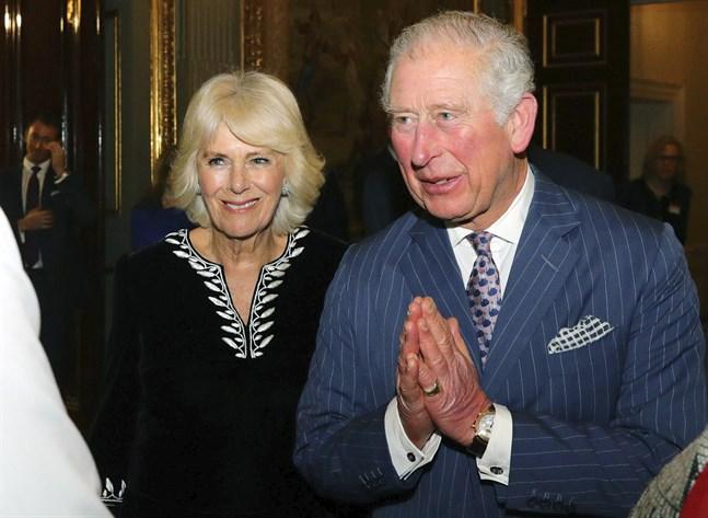 Prins Charles och hustrun Camilla har testats för coronaviruset. Arkivbild.