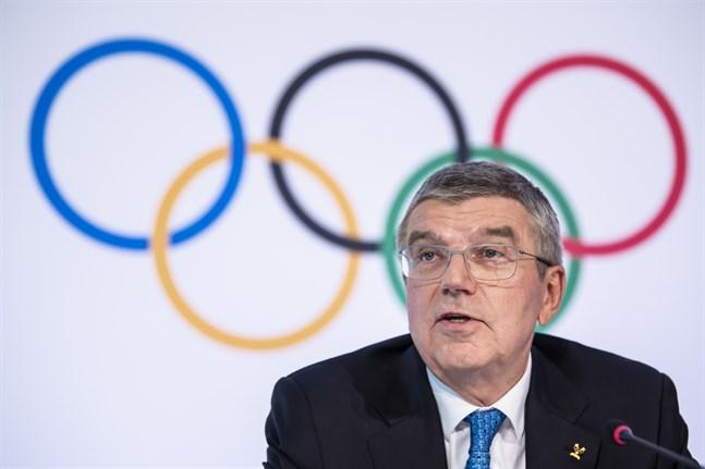 IOK:s ordförande Thomas Bach hoppas snart kunna presentera datumet för OS. Arkivbild.