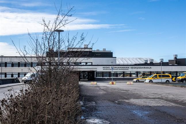 Soite, Mellersta Österbottens Centralsjukhus.