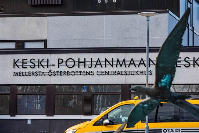 Mellersta Österbottens centralsjukhus.