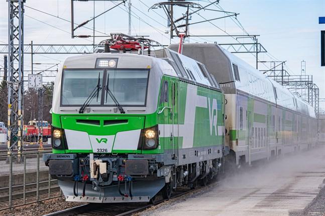 Den smittade Vasabon reste med tåg från Dickursby till Vasa lördagen den första augusti.