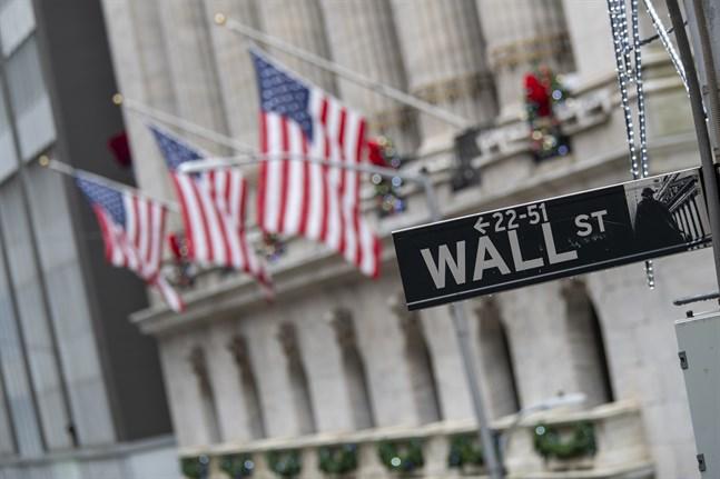 Ledande index på de amerikanska börserna sjönk när handelsveckan avslutades. Arkivbild.